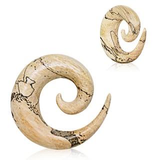 Ecarteur spirale en bois tamarin