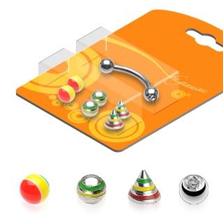 Pack piercing arcade Rasta
