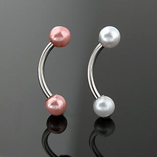 Piercing arcade à boules perlés