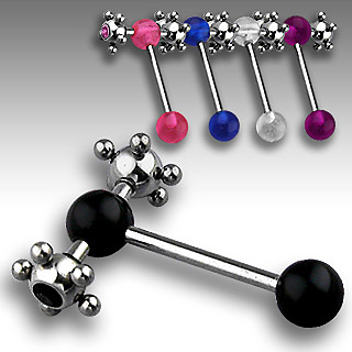 Piercing langue Ball Spinner