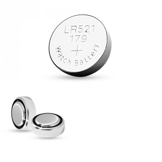 Pile bouton alcaline LR521