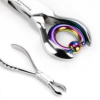 Pince à fermer / serrer les anneaux CBR (1,6mm d'épaisseur et plus)