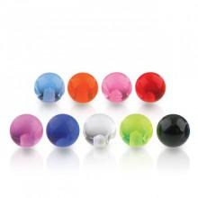 Boule de piercing en acrylique UV (remplacement)