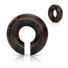 Ecarteur anneau en bois Areng