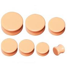 Ecarteur plug couleur pêche / peau en pierre