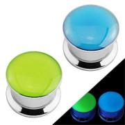 Ecarteur type plug fluo phosphorescent