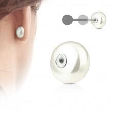 Perle d'ornement pour clou d'oreille