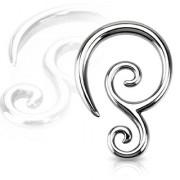 Piercing écarteur double spirale en acier