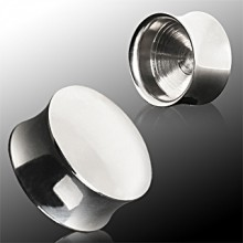 Piercing écarteur plug 100% acier