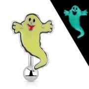 Piercing nombril inversé fantôme