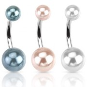 Piercing nombril perles