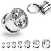 Piercing plug acier et zircon