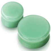 Piercing plug pierre semi-précieuse Jade